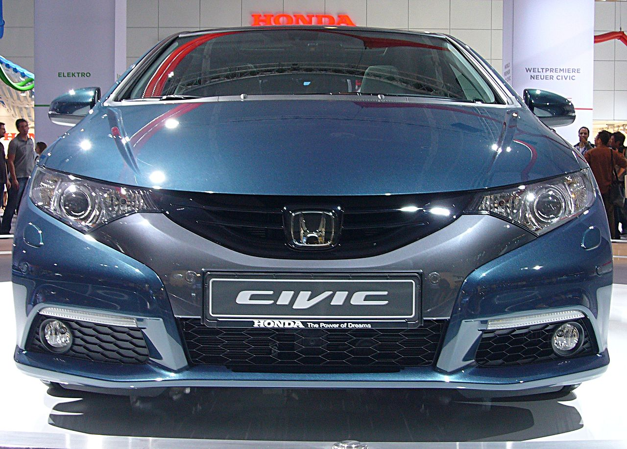 File honda civic 2 2 i dtec front jpg wikimedia commons for Build your own honda civic