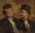 Honoré-Victorin Daumier - Two Lawyers - 1933.425 - Art Institute of Chicago.jpg