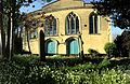 Hope Chapel with spring flowers.jpg