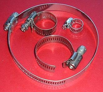 Hose clamp - Screw/band hose clamps.