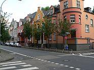 Hostatostraße Gründerzeitbauten Neustadt Höchst