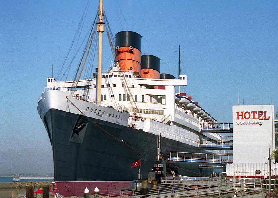 Hotel Queen Mary, Long Beach 01