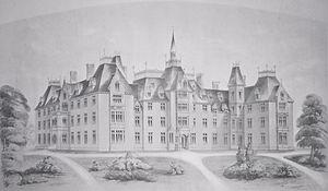 Providence Healthcare (Toronto) - Toronto's original House of Providence, circa 1857