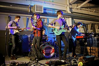 Howler (band) - Howler performing at Rough Trade East, London in 2012