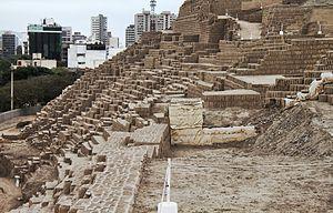 Huaca Pucllana - Image: Huaca Pucllana City