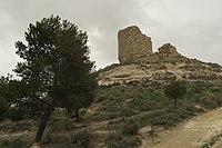 Huerta de Valdecarábanos, ruinas del castillo.JPG