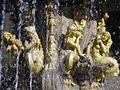 Huesca - Plaza de Navarra, Fuente de las Musas 2.jpg
