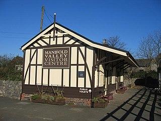 Hulme End railway station
