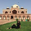 Humayun tomb-the ancient and present beauty in canvas.jpg