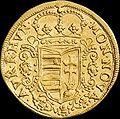 Hun II Rakoczi Ferenc Dukat 1707 NB Huszar 1523 obverse.jpg