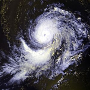 Hurricane Georges on September 18 at 1724 UTC....