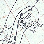 Hurricane Judith surface analysis October 20 1959.jpg