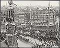 Huwelijken, rijtoeren, panoramas, Muntplein, Bestanddeelnr 018-0184.jpg