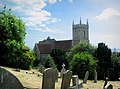 Hythe Church and Churchyard - geograph.org.uk - 228954.jpg
