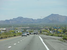 Interstate 10 in arizona wikipedia interstate 10 between blythe and quartzsite sciox Choice Image