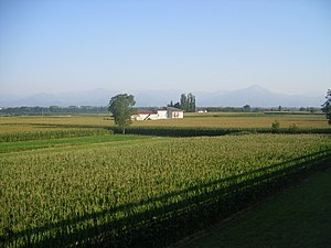 Battle of Genola - Countryside near Murazzo