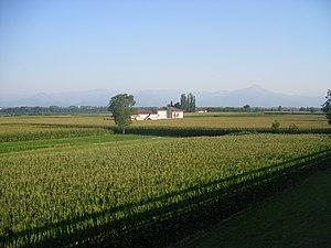 Battle of Genola - Countryside near Murazzo