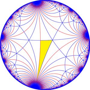 Truncated triapeirogonal tiling - Image: I32 symmetry mirrors