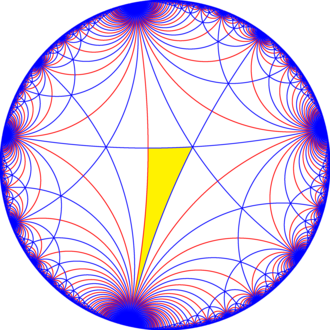 Truncated triapeirogonal tiling - Image: I32 symmetry mirrors