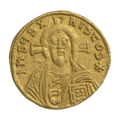 INC-1588-r Солид Михаил III Пьяница ок. 842-867 гг. (реверс).png