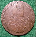 IRELAND, CRONEBANE-ASSOCIATED IRISH MINERS ARMS HALFPENNY 1790's b - Flickr - woody1778a.jpg