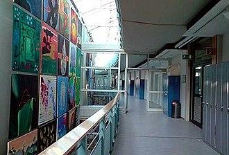 International School of Düsseldorf - ISD South Building Corridor