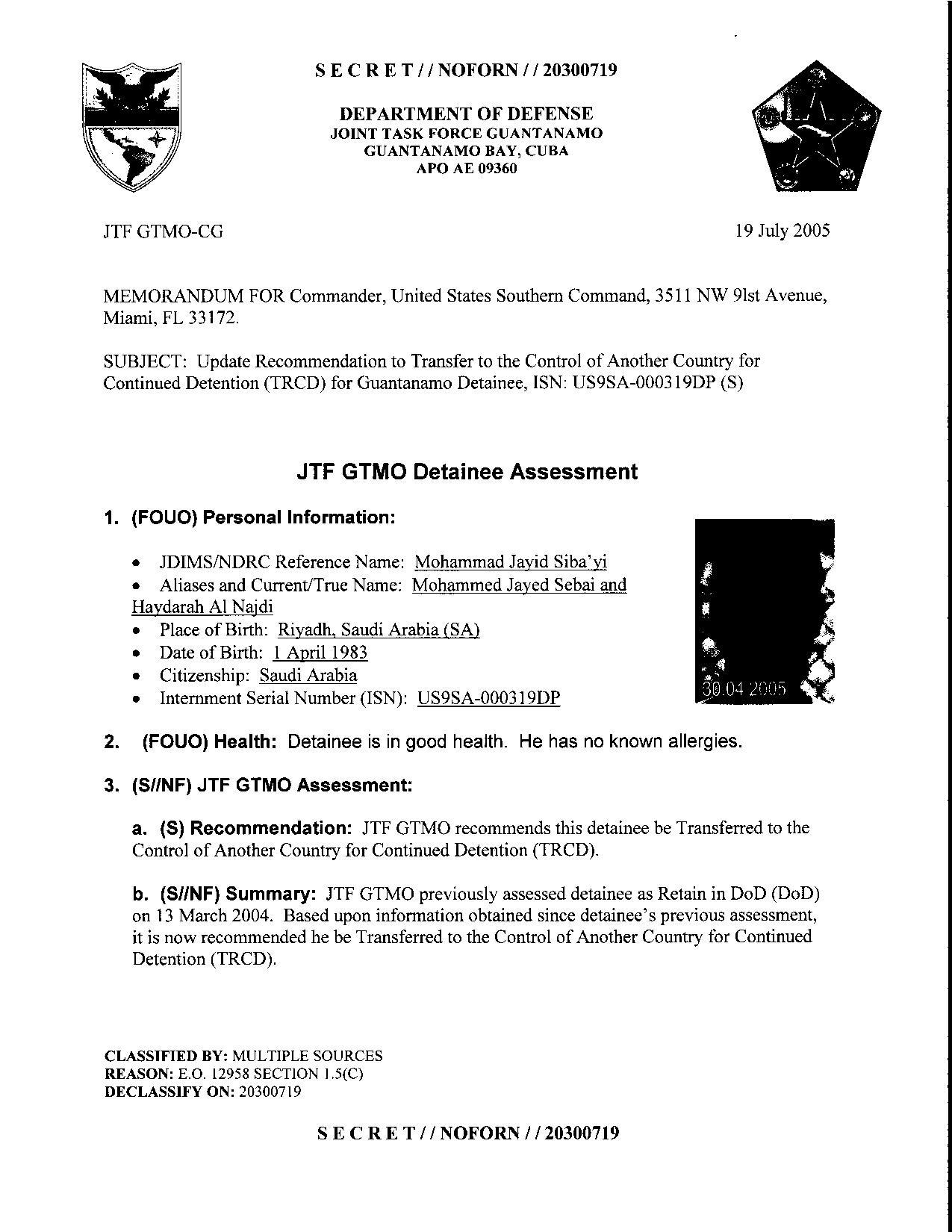 ISN 319's Guantanamo detainee assessment.pdf