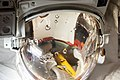 ISS-36 The faulty Extravehicular Mobility Unit (EMU) spacesuit helmet.jpg