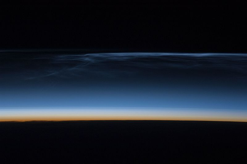 File:ISS 17 - Noctilucent clouds over Asia.jpg