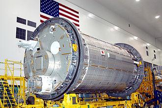 STS-124 - JEM Kibō Pressurized Module in assembly