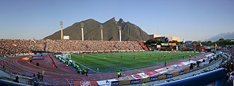 Estadio Tecnológico - Image: ITESM Estadio Tecnologico