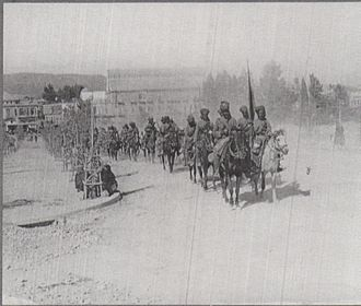 4th Horse (Hodson's Horse) -  9th Hodson's Horse in Damascus 2 October 1918