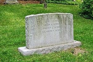 Harriet Hosmer - Mount Auburn Cemetery, Cambridge, MA