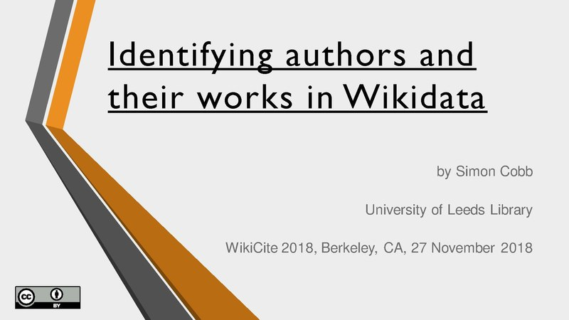File:Identifying authors and their works in Wikidata.pdf