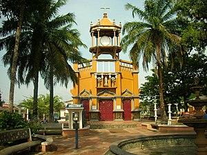 Cáceres, Antioquia - Image: Iglesia Caceres Antioquia