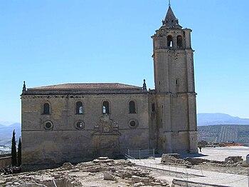 La Iglesia Mayor Abacial de la Fortaleza de la Mota.