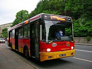 Ikarus Bus - Ikarus 415.14B bus in Bielsko-Biała, Poland.