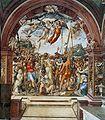 Il Sodoma. Execution Nicolo di Tuldo. St. Catherine Chapel, San Domenico, Siena. 1526..jpg