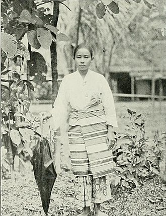 "Terengganuan Malay people - Image: Image from page 222 of ""Women of all nations, a record of their characteristics, habits, manners, customs and influence;"" (1908) (14583641609)"