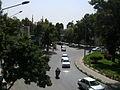 Imam Khomeini st view from skyway - Nishapur 1.JPG