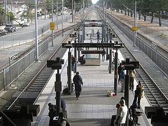 Willowbrook/Rosa Parks station - The old Blue Line platform.
