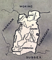 Index map to the Hundred of Godalming.png