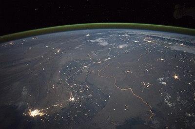 India-Pakistan Border at Night.jpg
