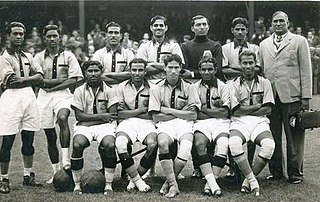 India national football team results (1948–1959)
