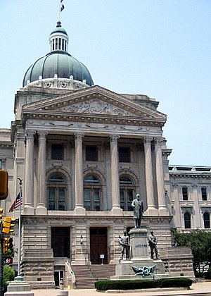 Indiana General Assembly - The Indiana State House in Indianapolis