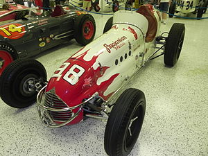 1952 Indianapolis 500 - Winning car of the 1952 Indianapolis 500