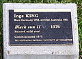 Inge King Black Sun 11 at ANU Canberra plaque.jpg
