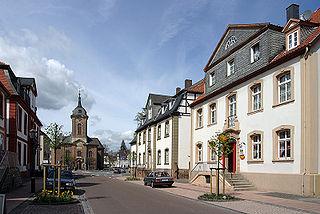 Bad Arolsen Place in Hesse, Germany