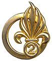 Le béret dans l'armée 103px-Insigne_de_b%C3%A9ret_du_2e_RE_Type_3