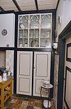 interieur keuken, keukenkast met neogotische tracering - mill - 20343665 - rce
